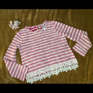 Guess girl' stripped sweater